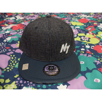 Gorra Negra-azul Yankees Ny I´m Totally Different Ajustable