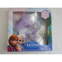 Set Para El Cabello Disney Frozen! Importado, Regalo