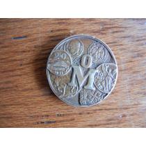 Medalla Conmemorativa Del 450 Aniversario Casa De Moneda Mex
