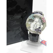 Mca.disney Reloj Mickey Mouse Varios Modelos Con Cristales.