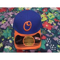 Gorra Azul C/naranja Orioles De Baltimore New Power 7 1/4