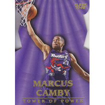 1997-98 Fleer Tower Of Power Marcus Camby Raptors