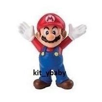 Mario Bros, Figuras Mcdonalds Colección 2014, Pastel