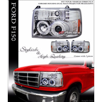 Faros Proyectores Ford Pick Up 1992 1993 1994 1995 1996
