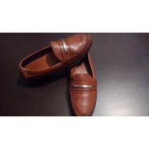 Zapatos Bally Originales En Piel De Becerro, Unisex Mocasín