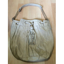 Bolsa Kardashian Collection Beige Bucket Bag 100% Original!!