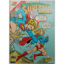 Superman # 1343 Superchica 1981 Aguila Tlacua03