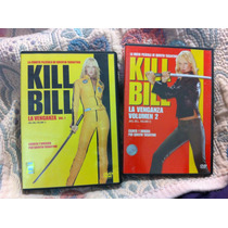 Kill Bill Vol. 1 Y 2. Uma Thurman Quentin Tarantino Dvddvd