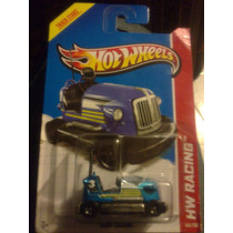Hot Wheels Bump Around Carrito Chocon Azul