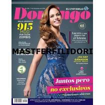 Lucero Revista Domingo De Diciembre 2014