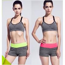 Nuevos Short Cintura Alta Fitness Workout