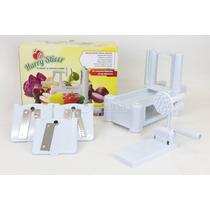 Rallador En Espiral De Frutas Y Verduras Hurry Slicer