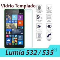Mica De Vidrio Templado 9h Nokia Lumia 532 Y 535