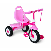 Tb.radio Flyers- Radio Flyer Girls Fold 2 Go Trike, Pink