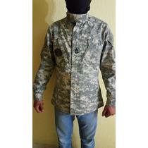 Camisola Us Army Original Pixelado Color Cemento Excelente!!
