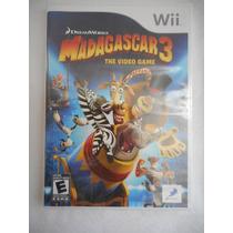 Juego Nintendo Wii Madagascar 3! Importado