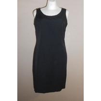 Maggie Lawrence! Vestido Negro Corte Clásico Talla 8