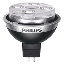 Lámpara Led, Mr16, Atenuable, Reflector Perno Doble Phillips
