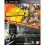 Borderlands 2 / Dishonored Ps3 Nuevo Citygame