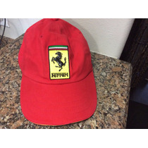 Gorra Ferrari Importada Alemania Unitalla
