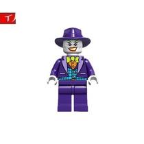 Minifigura Lego Joker Guason Ganster Batman Serie Original