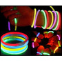 50 Pulceras De Neon En Varios Colores Para Batucadas Eventos