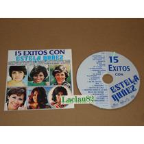 Estela Nuñez 15 Exitos 1993 Bmg Cd