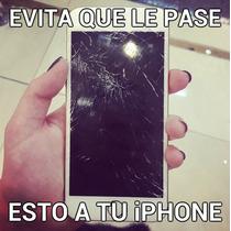 Mica Iphone 6 6s Cristal Templado A Prueba D Golpes Rayones