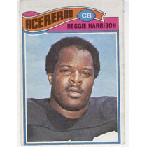 1977 Topps Mexican Reggie Harrison Acereros De Pittsburgh