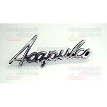 Emblema Leyenda Acapulco
