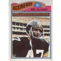 1977 Topps Mexican Mel Blount Ap Acereros De Pittsburgh