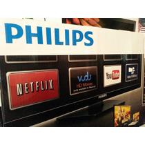 Pantalla Tv Philips 50 Pulgadas Fhdsmart Bluray De Regalo