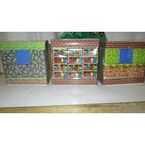 Cubos Didácticos De Madera (tipo Minecraft)