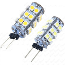 10 Focos G4 Led Smd 3528 Mini Elote Cacahuate 12v 1.8w Ambar
