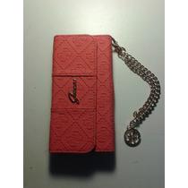Funda Tipo Bolsa Marca Guess Scarlett Roja Iphone 6 4.7