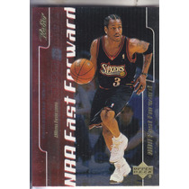 1999-00 Upper Deck Retro Fast Forward Allen Iverson Sixers