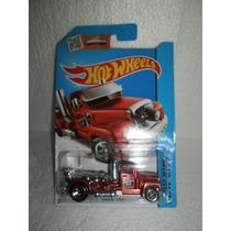 Hot Wheels Camion Trailer Turbine Time Rojo 2/250 2014