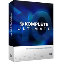 Komplete 10 Ultimate Plus Licencia Retail Original