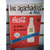 Comic Los Agachados De Rius 67 Coca Cola Editorial Posada