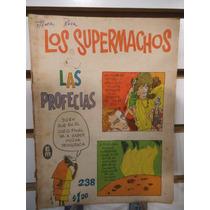 Comic Los Supermachos 238 Editorial Meridiano