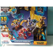 Transformers Rescue Bots Estacion De Bumblebee Hasbro