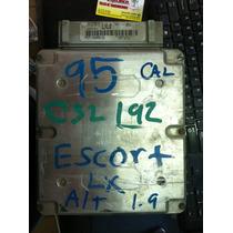 Ecm Ecu Pcm Computadora 1995 Escort Lx 1.9 F5cf-12a650-ga