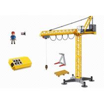 Playmobil 5466 Grua De Rc Pluma Construccion Retromex