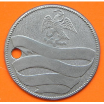 Medalla Porfirio Diaz Militar Mexico Plata