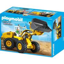 Playmobil 5469 Cargadora Frontal Construccion Pala Retromex