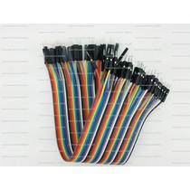 Set De 40 Cables Dupont Para Arduino, Protoboard, Raspberry.