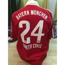 Jersey Bayern Munchen De Alemania Roque Santa Cruz Adidas
