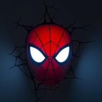 Spiderman Figuras Lamparas De Pared 3d + Tablet Didáctica