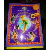 Libro Disney Campanita Calcamonias Tinkerbell