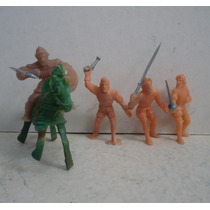 Soldado Español - Guerra De Conquista Muñeco Juguete Escala